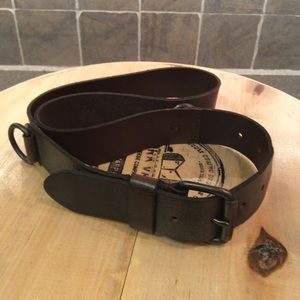 Accessories - Women's leather belt brown size M